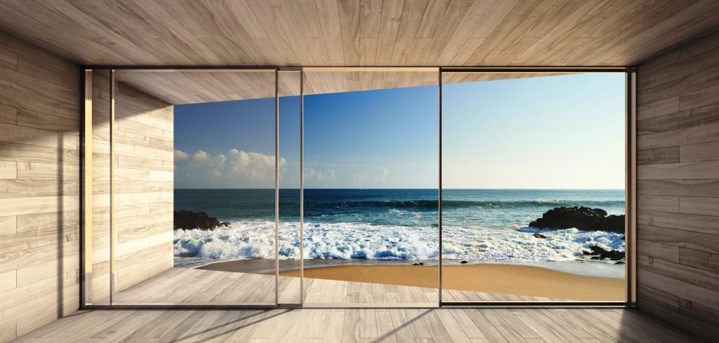 Современные апартаменты с видом на океан